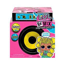 """Игровой набор L.O.L SURPRISE! W1 серии """"Remix Hairflip"""" - МУЗЫКАЛЬНЫЙ СЮРПРИЗ (в ассорт., в дисплее)"""
