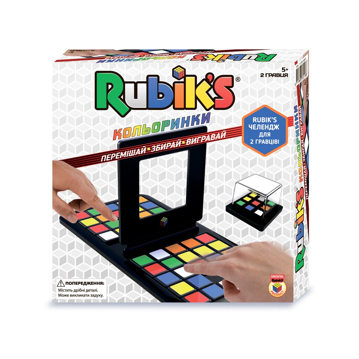 Головоломка RUBIK'S – ЦВЕТНАШКИ (1-2 игрока)