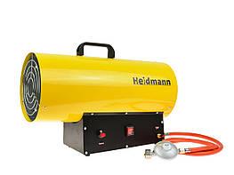 Газовий обігрівач з редуктором Heidmann H00753 40кВт