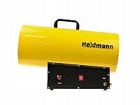 Газовий обігрівач з редуктором Heidmann H00753 40кВт, фото 2