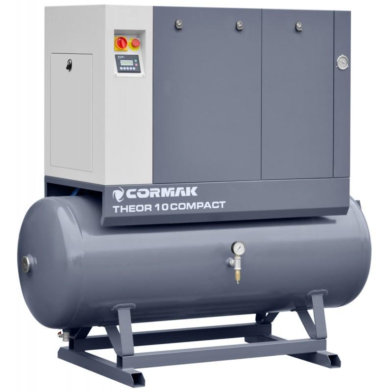 Комплект CORMAK THEOR 10Compact (гвинтовий компресор THEOR 10, осушувач повітря N10S, бак 500л)