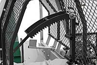 Напівавтоматична машина для різання і розколу дров Lumag SSA 500G, фото 5