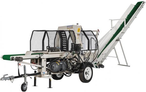 Полуавтоматическая машина для резки и раскола дров Lumag SSA500EH-PRO