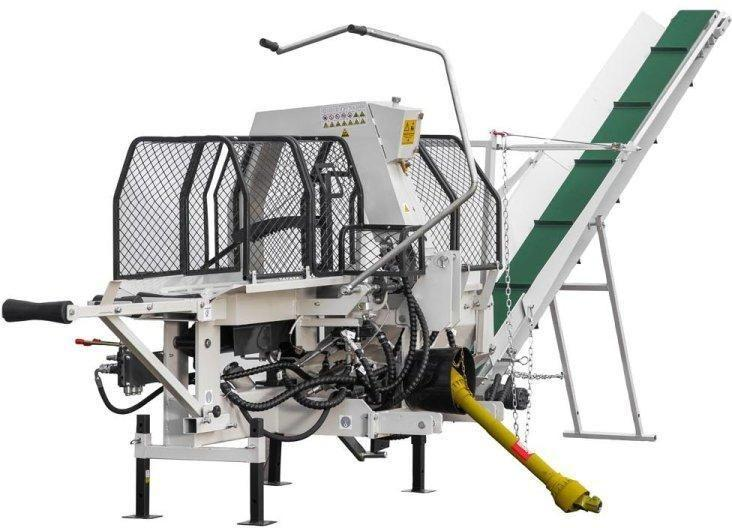 Полуавтоматическая машина для резки и раскола дров Lumag SSA500Z