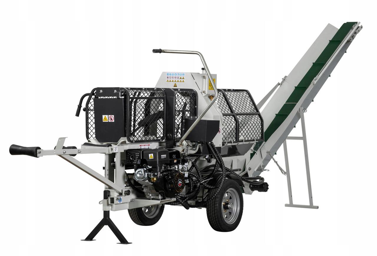 Напівавтоматична машина для різання і розколу дров Lumag SSA 400E
