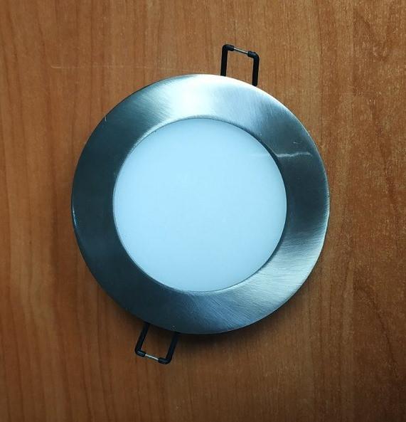 Світлодіодний світильник Horoz (HL687L) 6W 3000K коло. мат.хром (стельовий) з трансформат. Код.56826