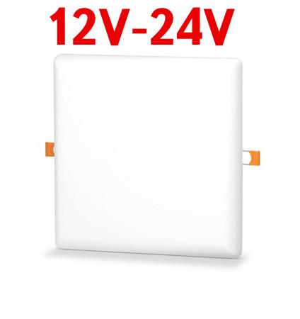 Светодиодный светильник универсальный SL UNI-24-S 24W 12-24V DC 5000K квадратный белый Код.59681