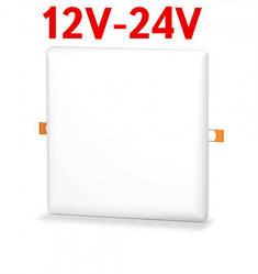 Светодиодный светильник универсальный SL UNI-22-S 22W 12-24V DC 5000K квадратный белый Код.59681