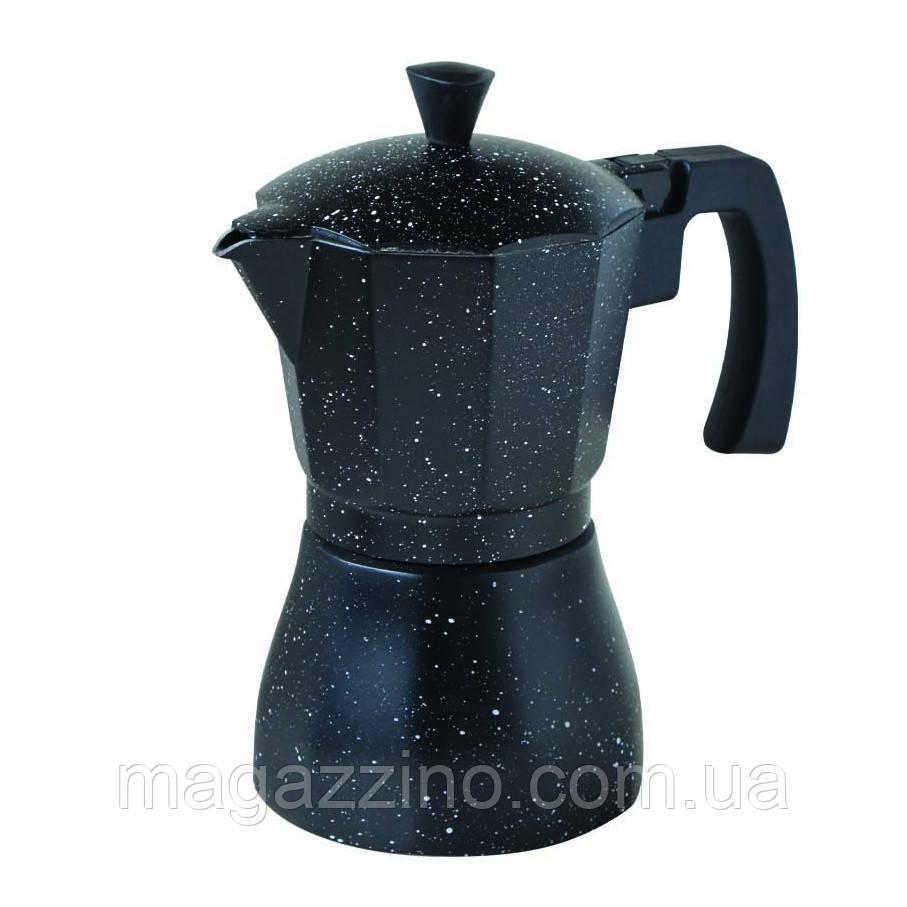 """Гейзерна кавоварка на 3 чашки, """"ConBrio"""", 150мл."""