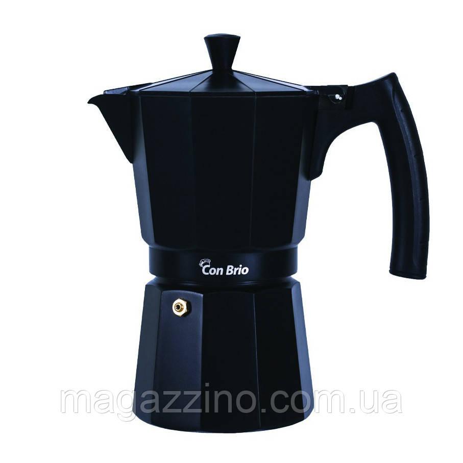 """Гейзерная кофеварка на 9 чашек, """"ConBrio"""", 450мл."""