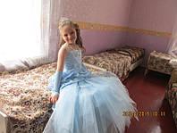 Детское нарядное платье Королева бала голубенькая -  Киев, Троещина