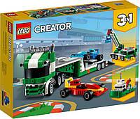 Лего креатор 3 в 1 Транспортировщик гоночных автомобилей Lego Creator 31113