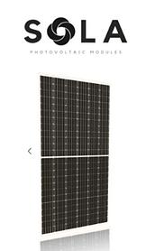 Солнечная батарея SOLA-S120/FNH 370W монокристаллический фотомодуль 370 Вт 120-cell