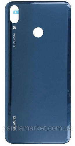 Задня частина корпусу Huawei Y9 2019 (JKM-L23, JKM-LX3) Синій