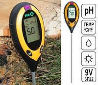Професійний аналізатор ґрунту 4 в 1 FLO 89000 (РН, вологість, освітленість, температура). Польща, фото 1