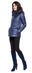Сапфировая женская куртка короткая модель 15115