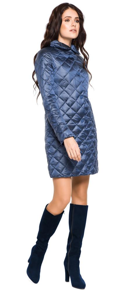 Стеганая куртка женская цвет ниагара модель 20856