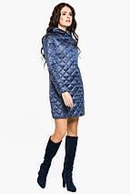 Стьобана куртка жіноча колір ніагара модель 20856, фото 2