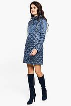 Стеганая куртка женская цвет ниагара модель 20856, фото 2