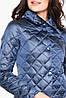 Стеганая куртка женская цвет ниагара модель 20856, фото 3