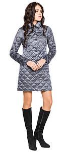 Куртка комфортная женская цвета маренго модель 20856