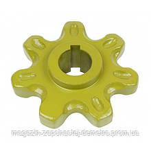 Зірочка Z-7 d-26 елеватора Claas (Agro) 503030.1