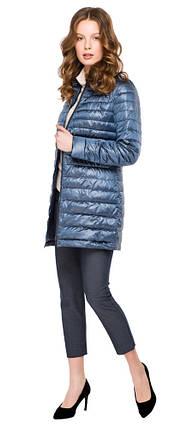 Легкая куртка женская цвет ниагара модель 41323, фото 2