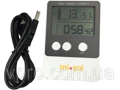 Реєстратор температури і вологості Misol DS102 (T: -40 °C до 60 °C; RH:1% - 99%) Пам'ять: 20736. Калібрується!