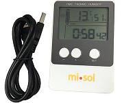 Реєстратор температури і вологості Misol DS102 (T: -40 °C до 60 °C; RH:1% - 99%) Пам'ять: 20736. Калібрується!, фото 1