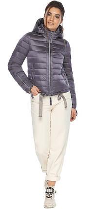 Куртка лавандовая трендовая женская модель 62574, фото 2