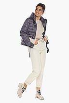 Куртка лавандовая трендовая женская модель 62574, фото 3