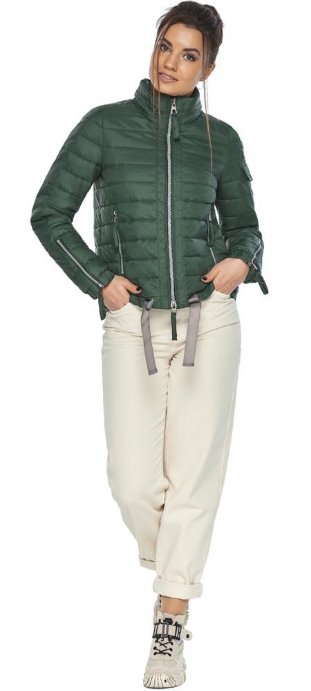 Брендовий куртка жіноча нефритова модель 62574