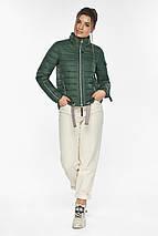 Брендовий куртка жіноча нефритова модель 62574, фото 2
