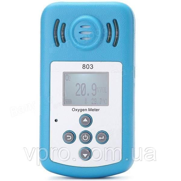 Портативний оксиметром ( кислородомер ) KXL 803 (O2: 0 - 25%) із звуковим сигналом і вбудованим термометром