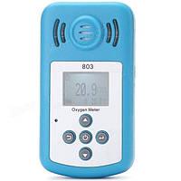 Портативний оксиметром ( кислородомер ) KXL 803 (O2: 0 - 25%) із звуковим сигналом і вбудованим термометром, фото 1