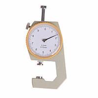 Кишеньковий механічно товщиномір TOL-2 0,1 мм/0-10 мм для паперу, картону, заліза, тканини, фото 1