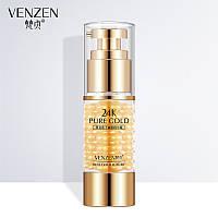 Крем для кожи вокруг глаз с золотом и экстрактом икры Venzen Caviar 24k Gold Eye Cream, 35г