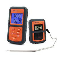 Бездротовий термометр (до 100 м) ThermoPro TP-07 (0-300 °С) у прогумованому корпусі, фото 1