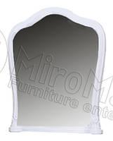Зеркало Луиза / Luiza 1000х880х70мм белый глянец Миро-Марк