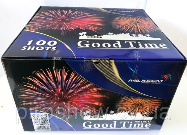 Салютна Феєрверк Good Time 100 пострілів 30 калібр gwm 6103 Maxsem