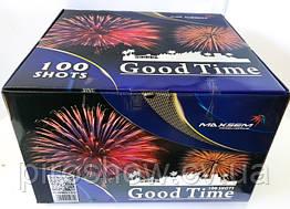 Салютная Фейерверк Good Time 100 выстрелов 30 калибр gwm 6103 Maxsem