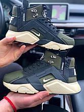 Nike Huarachi Acronym Termo цвет хакки