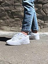 Puma Cali bold white