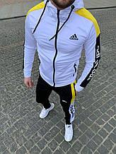 Спорт костюм Adidas белий