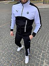 Спорт костюм Puma BMW чорний білий