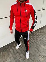 Спорт костюм Adidas красний
