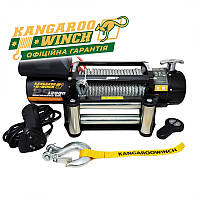 ✅Лебідка електрична KANGAROOWINCH K12000-12V на 5,5 т. електролебідка автомобільна 12 вольт
