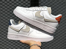 Nike Air Force 1 Inside Out White Red Blue