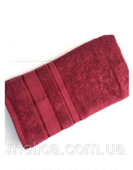 Махровий рушник для обличчя 60*90 Бордовий (1095 Marsala)