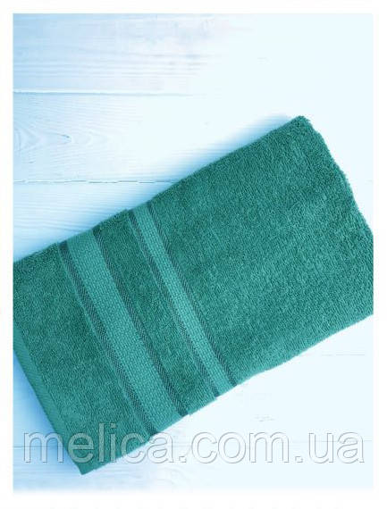 Махровий рушник для обличчя 60*90 Смарагд (Emerald 1 076)